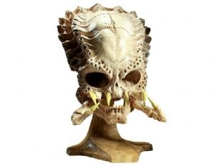 Large 42cm Resin Predator Model Skull